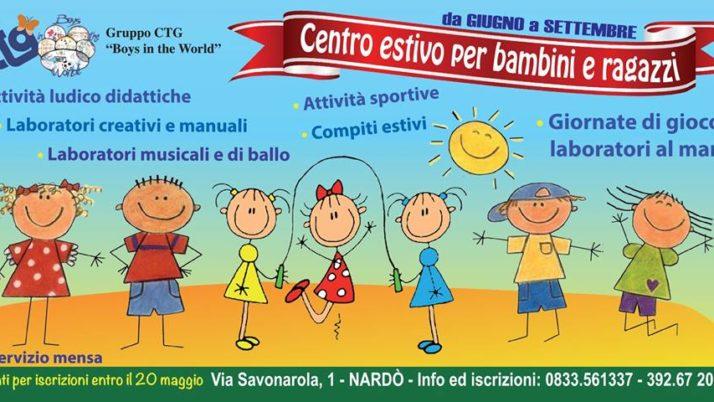 CTG Centro Estivo per Bambini e Ragazzi